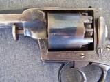 Cased Adams Patent European Percussion Revolver - 19 of 20