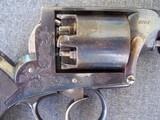 Cased Adams Patent European Percussion Revolver - 18 of 20