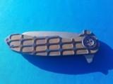 Curtiss Custom Folder w/original Case Wharncliffe Grind F3 Flipper - 9 of 10