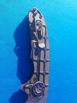 Curtiss Custom Folder w/original Case Wharncliffe Grind F3 Flipper - 7 of 10