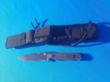 Benchmade #141 Nimravus Tactical Fighter Tanto w/scabbard New - 9 of 9