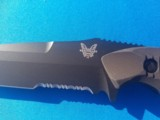 Benchmade #141 Nimravus Tactical Fighter Tanto w/scabbard New - 3 of 9