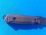 Benchmade #141 Nimravus Tactical Fighter Tanto w/scabbard New - 7 of 9
