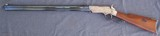 Uberti Henry rifle engraved by Virgil Graham