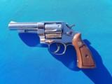 "Smith & Wesson Model 58 41 Magnum Nickel 4"" bbl Circa 1966"