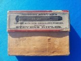 Peters Cartridge Co. 25-25-86 Cal. Empty 2 PC. box - 1 of 7