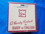 "Hardy ""Husky"" Fly Reel Silent Check w/Original Box & Instructions"