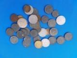 German WW2 Reich's Pfennig & Mark Coins