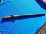 Remington Zouave Rifle Bayonet w/scabbard Original Civil War Issue - 18 of 18
