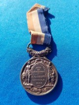 French Medal of Honor w/Ribbon Circa 1866 Named - 3 of 6