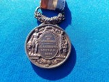 French Medal of Honor w/Ribbon Circa 1866 Named - 4 of 6