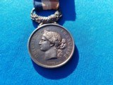 French Medal of Honor w/Ribbon Circa 1866 Named - 2 of 6