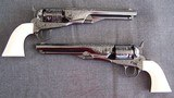 Colt 1861 Navy Engraved matched pair