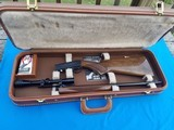 Browning 22LR ATD Japan Circa 1980 w/Redfield Scope Cased
