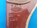 """George Lawrence Holster S&W 38 SPL. 4"""" F27L - 3 of 4"""
