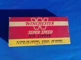 Winchester 219 Zipper Cartridge Box Full - 1 of 9