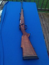 Ernest Dumoulin Mauser Rifle 30-06 Engraved w/Gold Inlays Ca. 1960 - 25 of 25