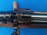 Ernest Dumoulin Mauser Rifle 30-06 Engraved w/Gold Inlays Ca. 1960 - 16 of 25