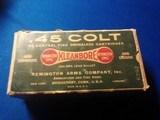 Remington UMC Dogbone Box 45 Colt Full Box - 1 of 9