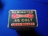 Remington UMC Dogbone Box 45 Colt Full Box - 3 of 9