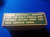 Remington UMC Dogbone Box 45 Colt Full Box - 5 of 9