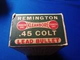Remington UMC Dogbone Box 45 Colt Full Box - 4 of 9