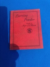 S&W Burning Powder Compiled by Major D.B. Wesson circa 1932 - 1 of 8