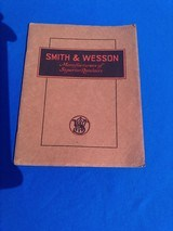 S&W Factory Catalog 1931 - 1 of 10