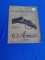 Fs. Dumoulin & Co. Catalog 1920's - 1 of 4