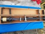 Unertl 20x Rifle Scope 3/4 Tube/1.5 Obective