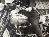 "Harley Davidson Vintage Photo 8""x10"" Police - 4 of 7"