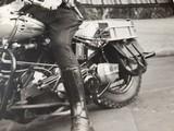 "Harley Davidson Vintage Photo 8""x10"" Police - 6 of 7"