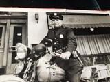 "Harley Davidson Vintage Photo 8""x10"" Police - 3 of 7"
