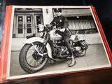 "Harley Davidson Vintage Photo 8""x10"" Police - 1 of 7"