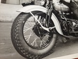 "Harley Davidson Vintage Photo 8""x10"" Police - 5 of 7"
