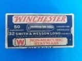 Winchester Staynless 32 S&W Long 98 Grain Full