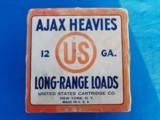 U.S. Cartridge Ajax Heavies 12 ga. Long Range 4C Full Box