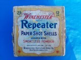 Winchester Repeater Shotgun Shells 11 Shot w/manual