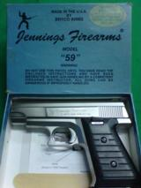 Jennings Firearms by Bryco Arms Mint Condition 9mm s-auto pistol
