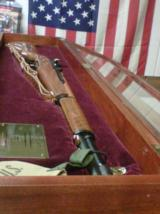 NEVER FIRED Limited Edition Commemorative WWII M1 GARAND rifle by The American Historical Foundation w/ Display Case