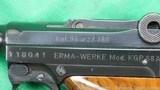 Erma Werk Waffenfabrik KGP 68-A mini luger 380 - 11 of 14