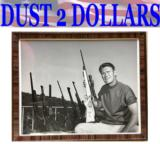 Custom built Harry Lawson rifle for Western Hollywood star Chuck Connor The Rifleman With Provenance!