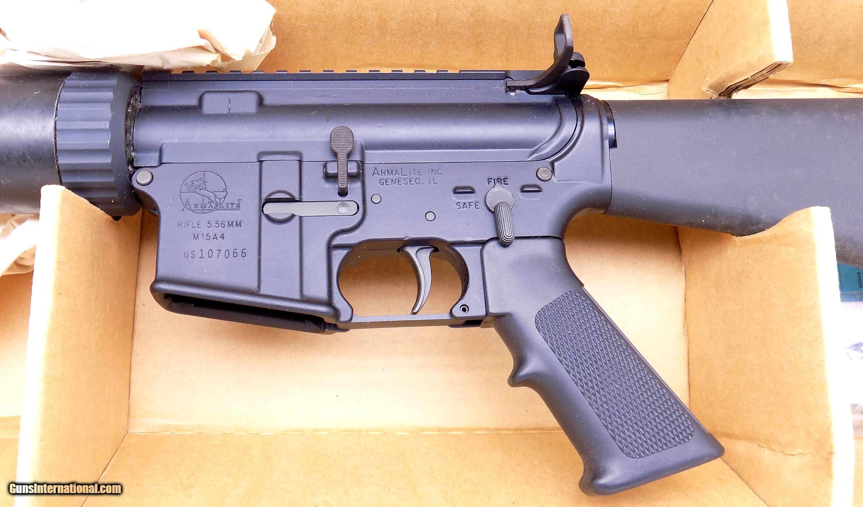 ANIB ArmaLite M15A4 (T) TBN NM Semi Automatic Rifle in  223 – 5 56