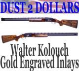 GORGEOUS Custom Krieghoff model 32 San Remo 12 Ga Shotgun 2 Barrels W/410 28 20 Briley Tubes
