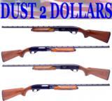 RARE Matched Pair Remington Wingmaster Model 870 .410 & 28 Gauge Shotguns #726 NICE