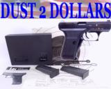 NIB Heckler & Koch H&K P7 M13 - P7M13 9mm Pistol 2/Mags Target All Matching Numbers 1988