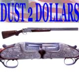 "GORGEOUS Merkel 303 - 303EL Over & Under 12 Ga Shotgun Inlaid Engraved 30"" W/Tubes"