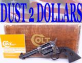 "GORGEOUS Colt SAA Single Action Army 44 Special 4 3/4"" 3rd Generation Manufactured 1978"