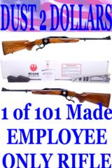 1 of 101 NIB RARE Ruger EMPLOYEE 50th Anniversary No 1A Rifle Chambered in 6.5 Creedmoor