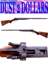 Scarce Remington New Model 1889 Side-By-Side Grade 5 12 Gauge Shotgun MIRROR BORES - 1 of 15